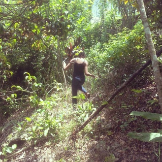 hiking jamaica travel alexis chateau