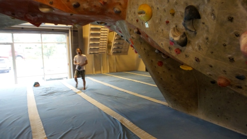 indoor rock climbing bouldering adventure brian mott