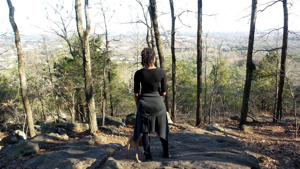 alexis chateau dreadlocks hiking trail travel