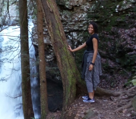 alexis chateau hiking fitness travel