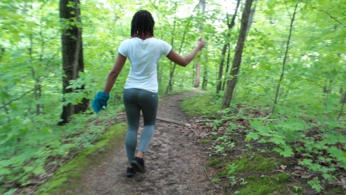 hiking trail alexis chateau dreadlocks