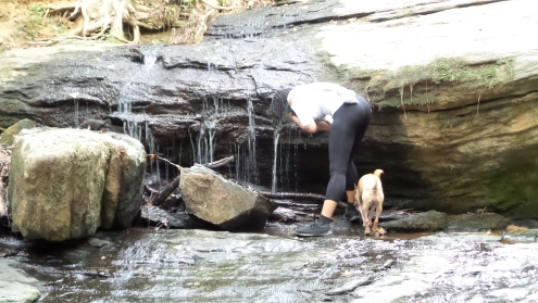 alexis chateau dreads black girl hiking