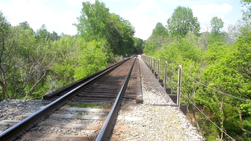 6 Train Tracks at Mason Mill GA