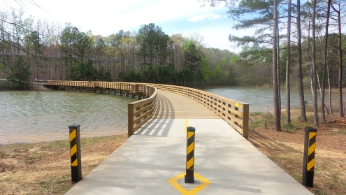 Clayton County International Park Bridge