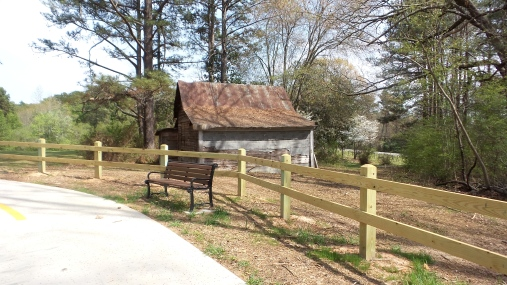Old Shed on Georgia Hiking Trail 2