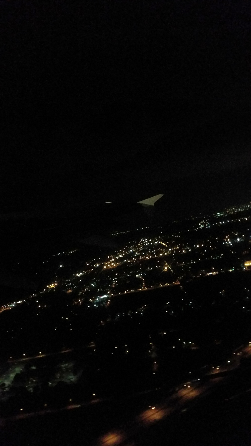 Atlanta City Lights at Take Off
