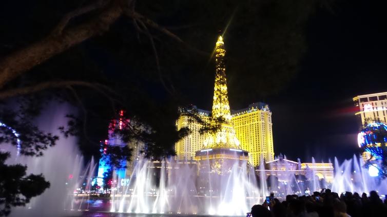 Bellagio Fountain Eiffel Tower