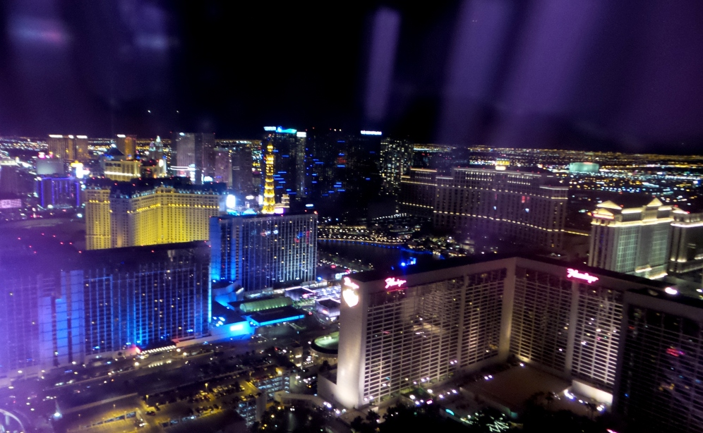 High Roller Las Vegas View