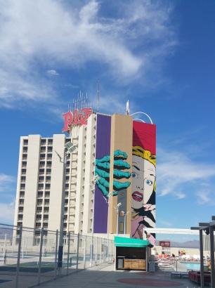 Plaza Hotel Las Vegas Mural