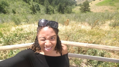 4 Alexis Chateau Colorado Squinting in the Sun