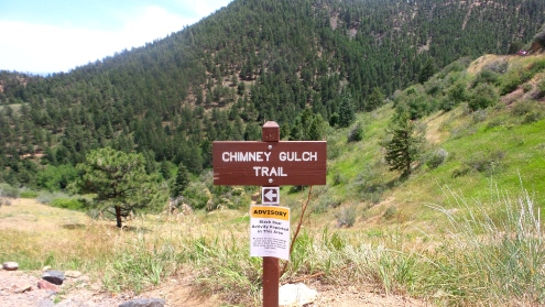 8 Chimney Gulch Trail